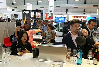 DWI-Stand, Vinexpo 2015